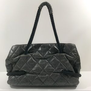 7fd5227efabcf8 CHANEL Bags | Authentic Coated Canvas Large Cc Beach Tote | Poshmark